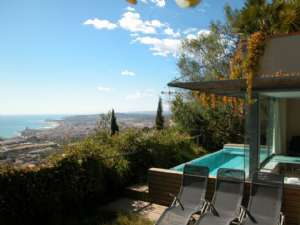 HOUSE WITH AMAZING SEA VIEWS, SITGES