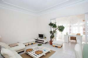 White Flats apartments with terrace in Sants