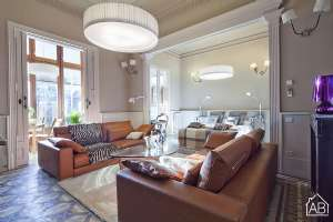 Luxury four-bedroom apartment in Barcelona city centre